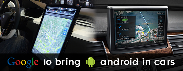 Google to bring android in cars