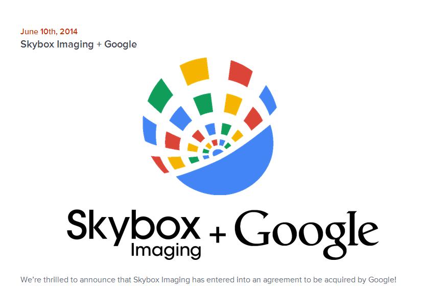 Google Buys Skybox