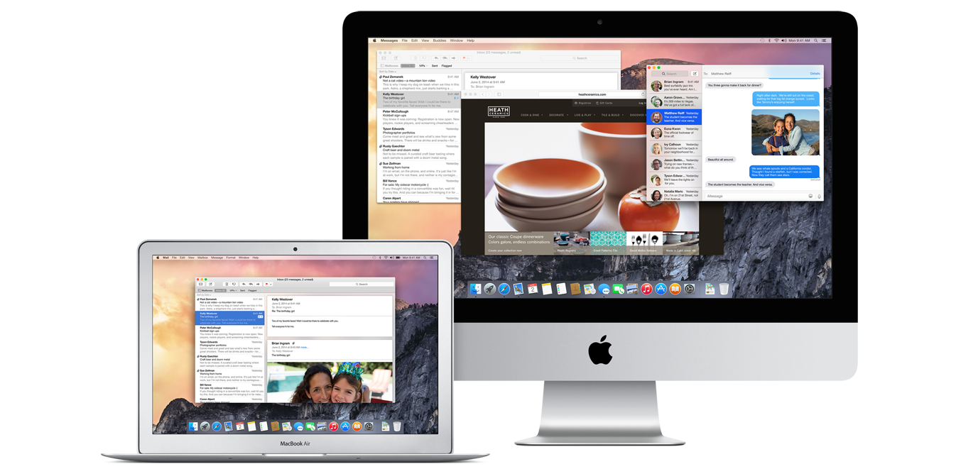 Apple's OS X Yosemite Beta Preview