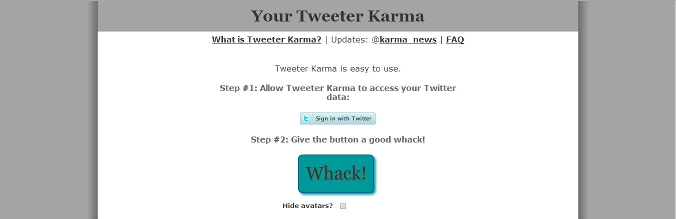 twitter-karma