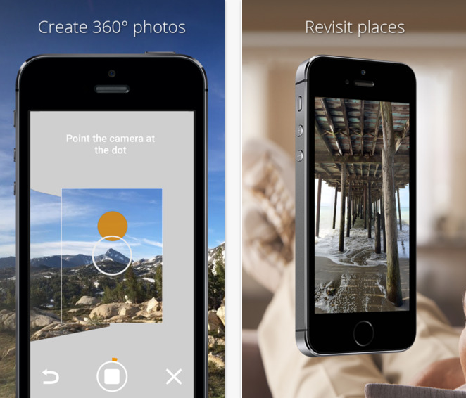Photo Sphere Camera App For iOS