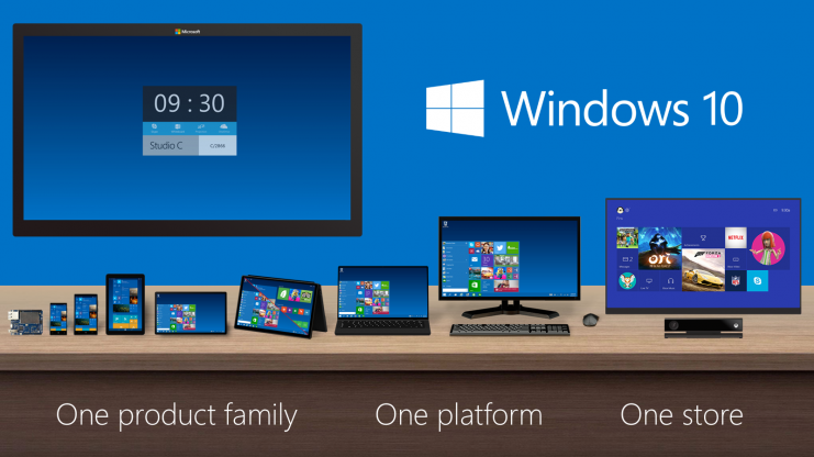 Microsoft announces Windows 10