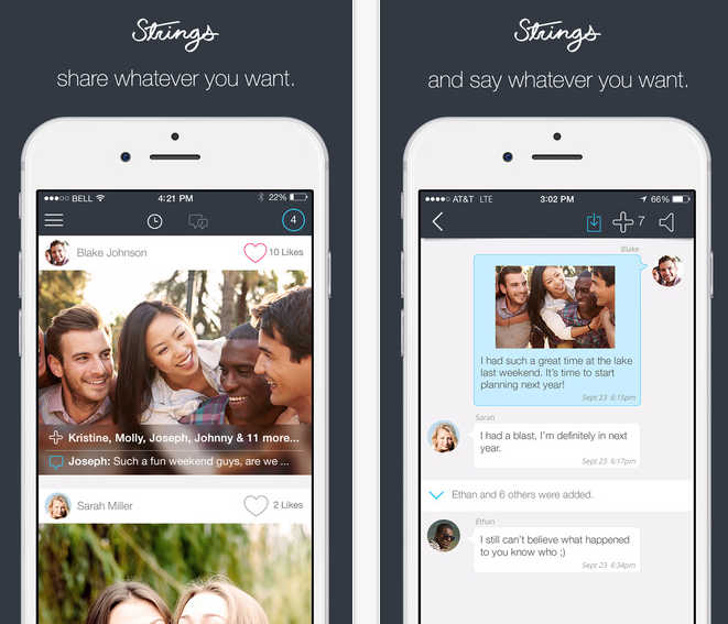 Strings Messaging App