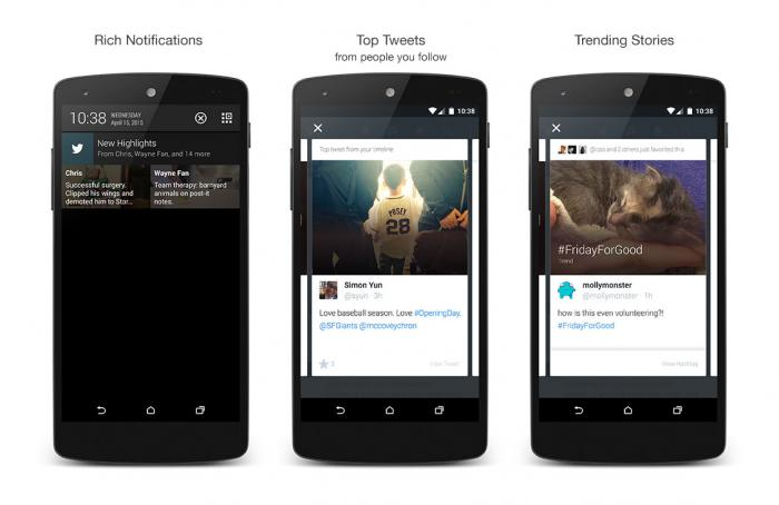 Twitter Launches 'Highlights' For Android Users