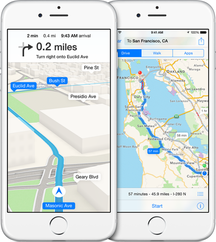 Apple buys GPS firm