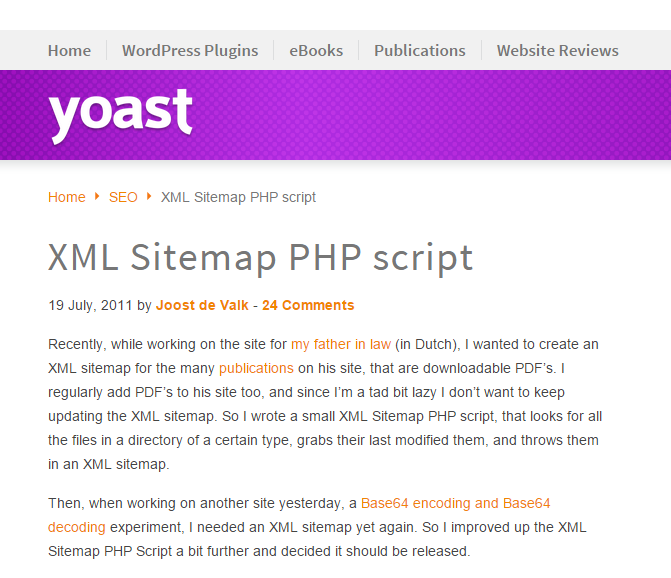 Google Xml Sitemap: 10 Best PHP Scripts For Developers To Create Dynamic