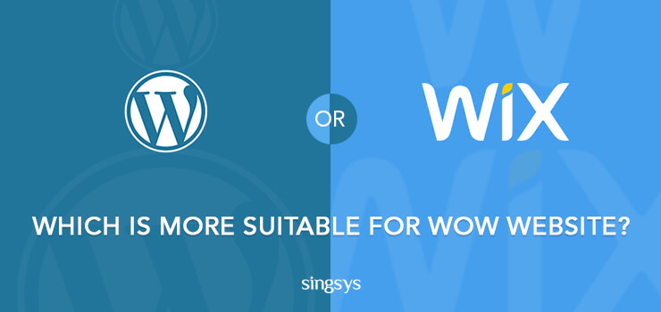 WordPress or Wix  Website