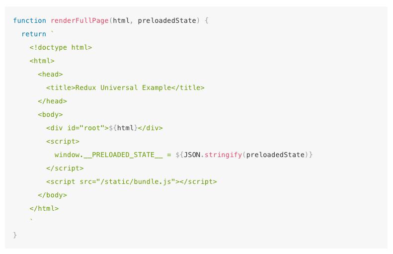 XSS vulnerability in React.js