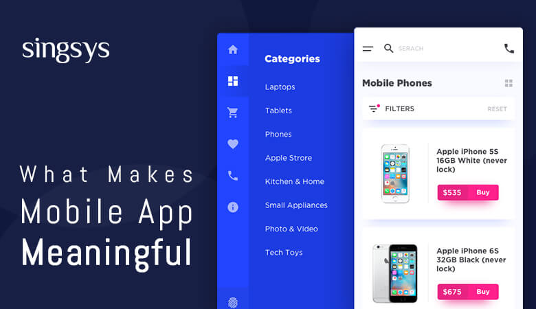 What Makes Mobile Apps Menu Meaningful