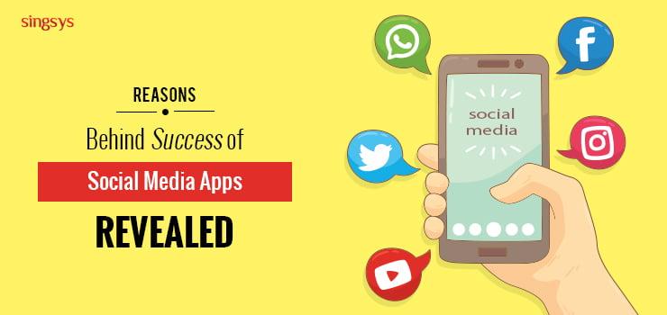 Social media apps popularity