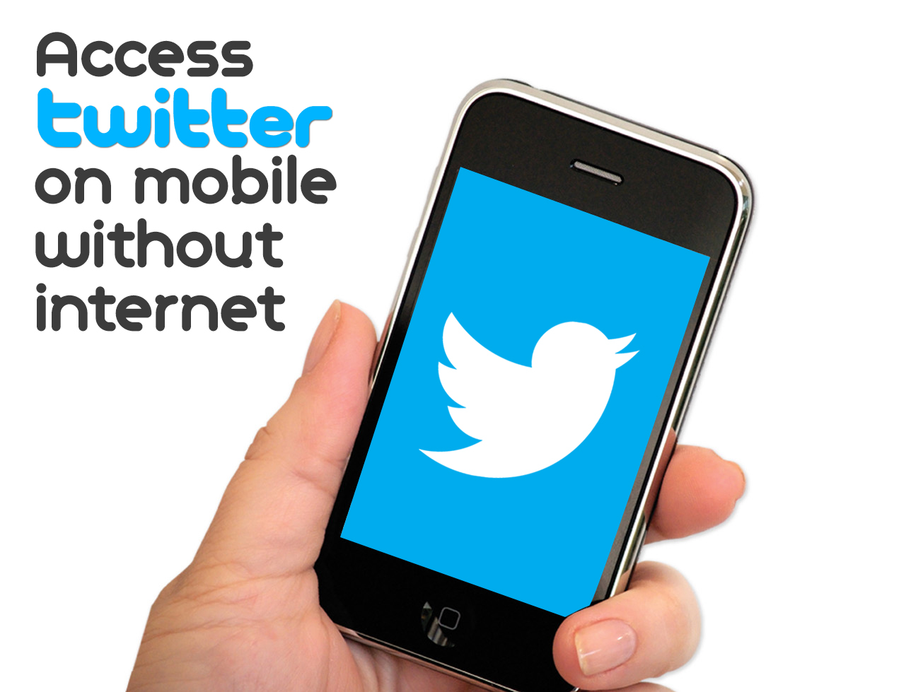 Access Twitter on your Mobile without internet
