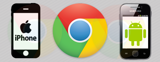 chrome apps for Android and iOS