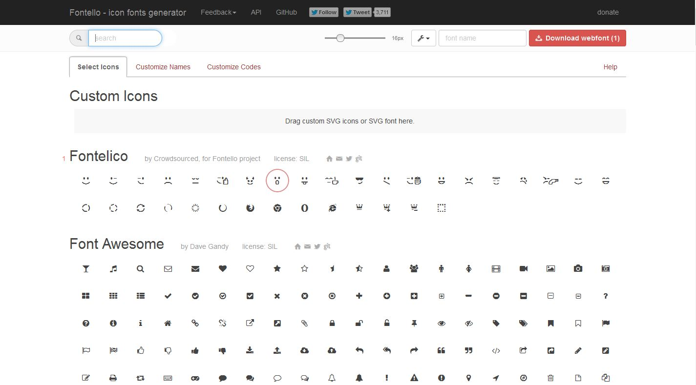 5 Best Icons Font Generator To Build Custom Fonts For Your Web