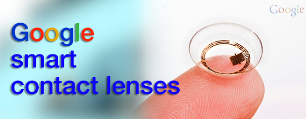 Google smart Contact lenses