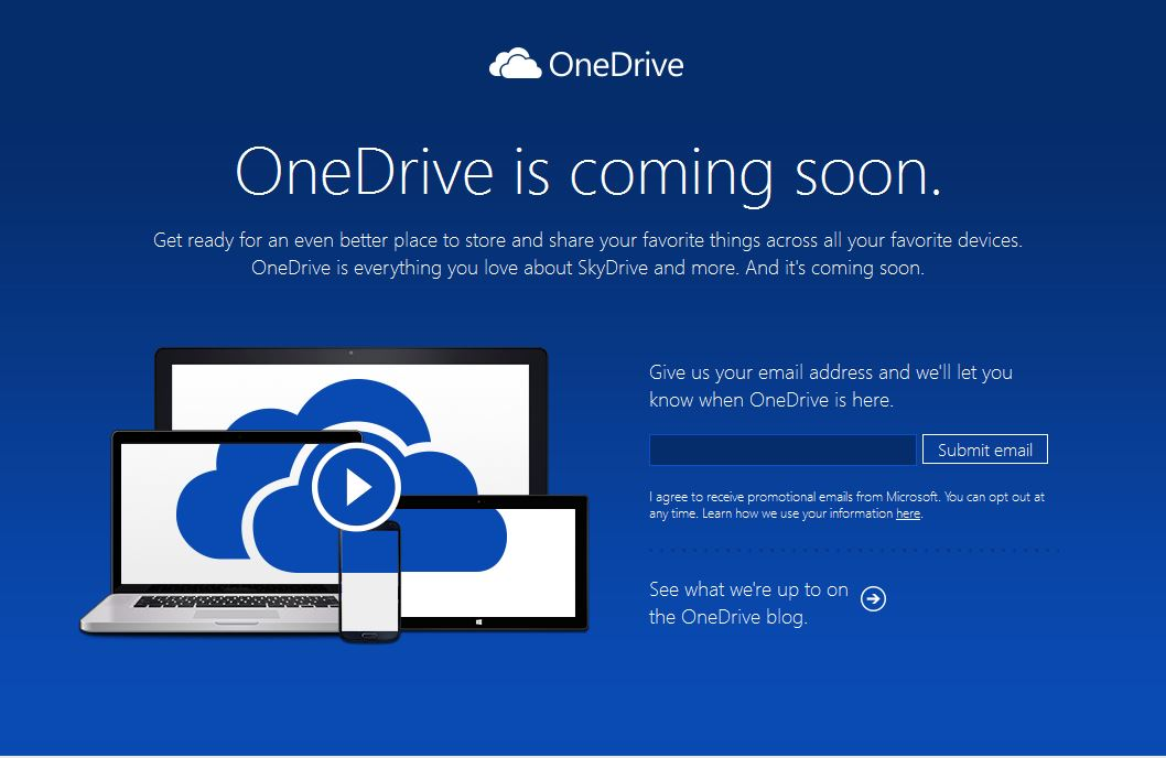 Microsoft Renames 'SkyDrive' as 'OneDrive'
