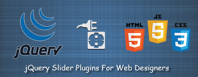 Free jQuery Slider Plugins For Web Designers