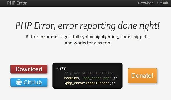 PHP Error