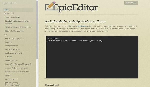 EpicEditor