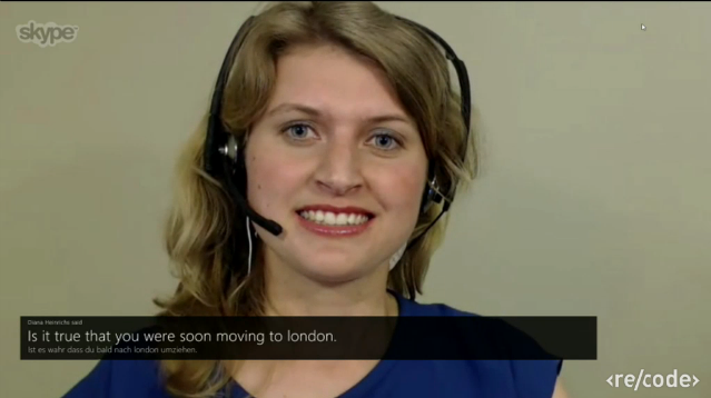 Real-Time Speech Translation feature for Skype