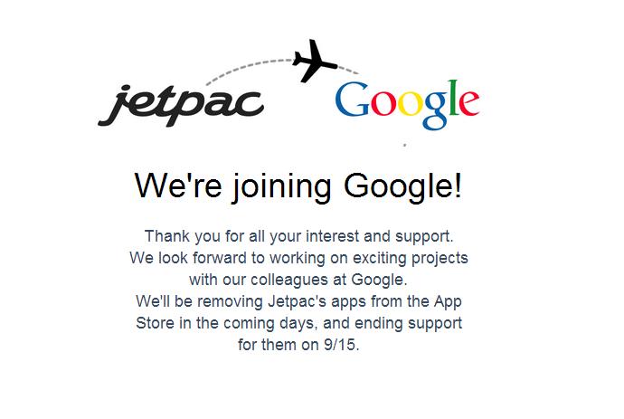 Google Buys JetPac