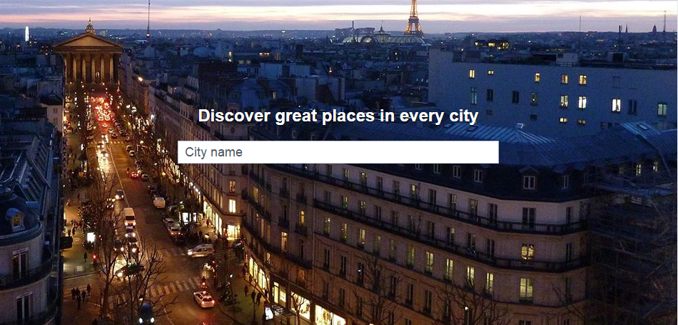 New Places Directory