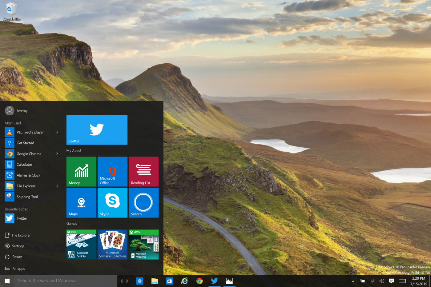 Twitter Released a Native Windows 10 App