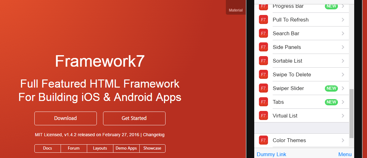 14 Fantastic Mobile Application Frameworks to Build with HTML, CSS