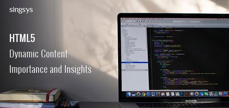 HTML5 dynamic Data