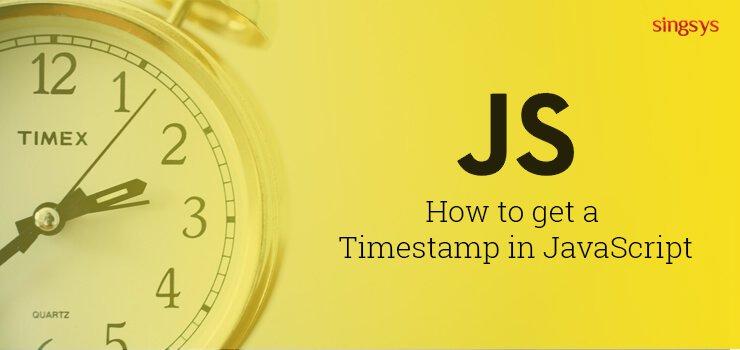 Javascript get current date unix timestamp