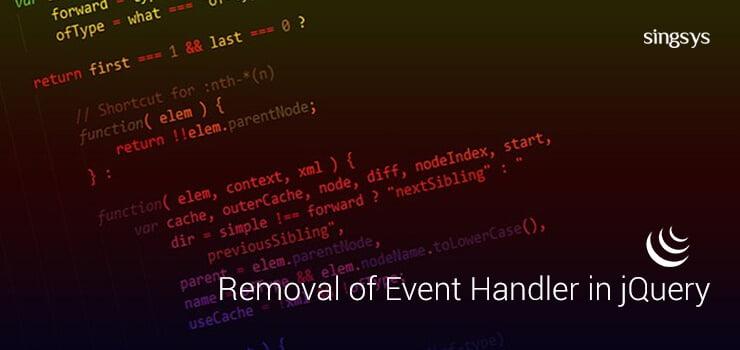 jQuery Event Handler