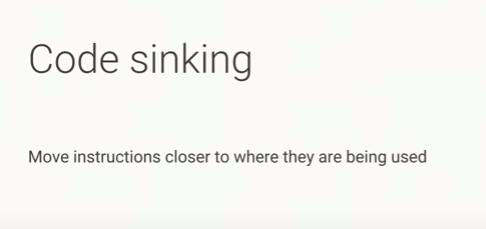 code sinking