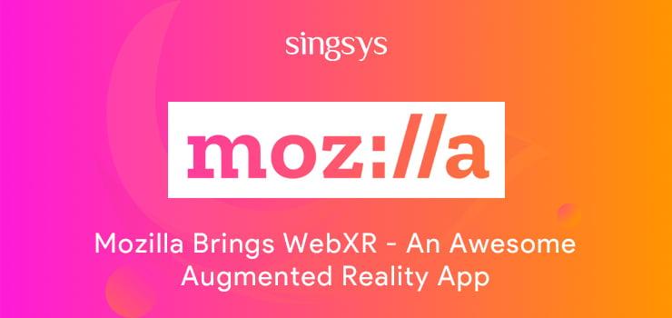 Mozilla AR App