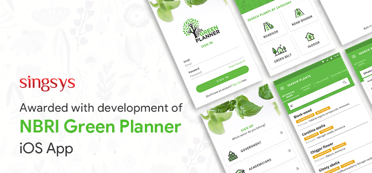 NBRI Green Planner App