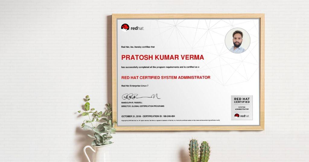 RedHat Certification