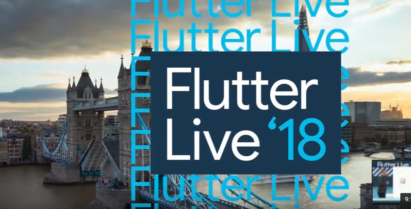 Flutter Live Event 2018