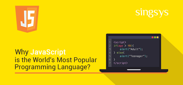 javascript is most popular programming language